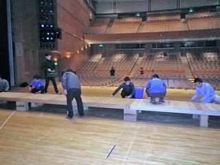 ステージ作り.JPG